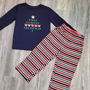3T pajama set-Christmas